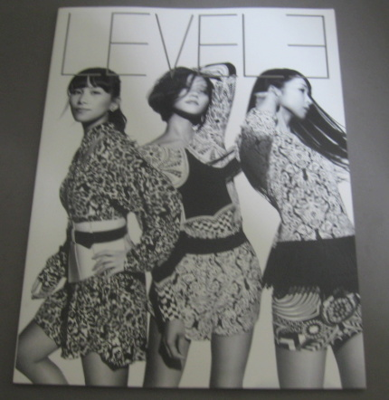 Perfume ツアーパンフレット パフューム 4th Tour in DOME 「LEVEL3」