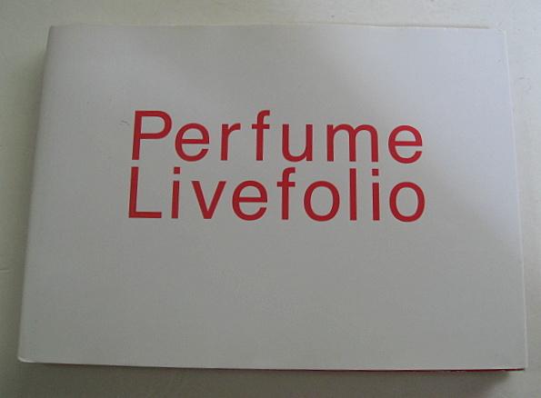 Perfume Livefolio ライブ写真集 パフューム
