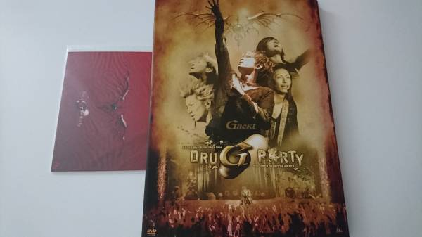 GACKT TRAINING DAYS2006 DRUGPARTY DVD2枚組 ポストカード6枚付き FC限定 Gackt ライブグッズの画像