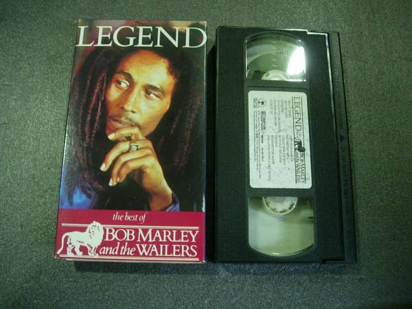 ⑳VHS ビデオ LEGEND BOB MARLEY and the WAILERS