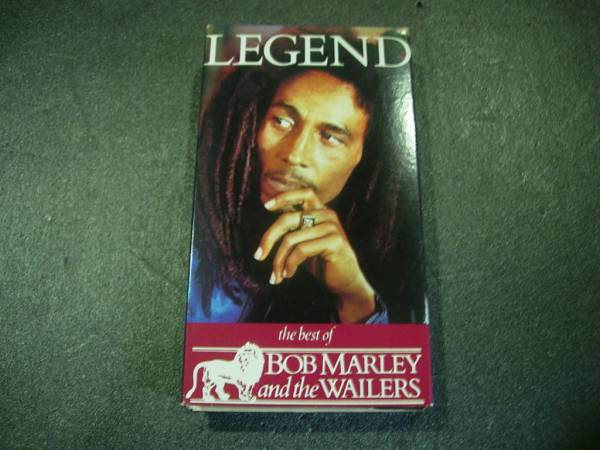 ⑳VHS ビデオ LEGEND BOB MARLEY and the WAILERS_画像2