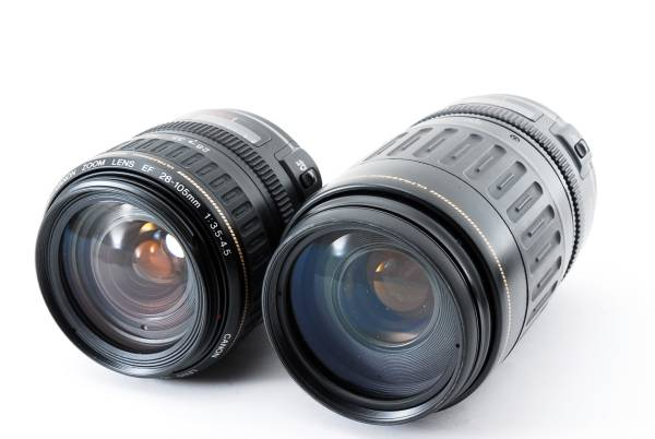 ★これは便利★ Canon キャノン EF 28-105mm EF 100-300mm USM 80size 181009