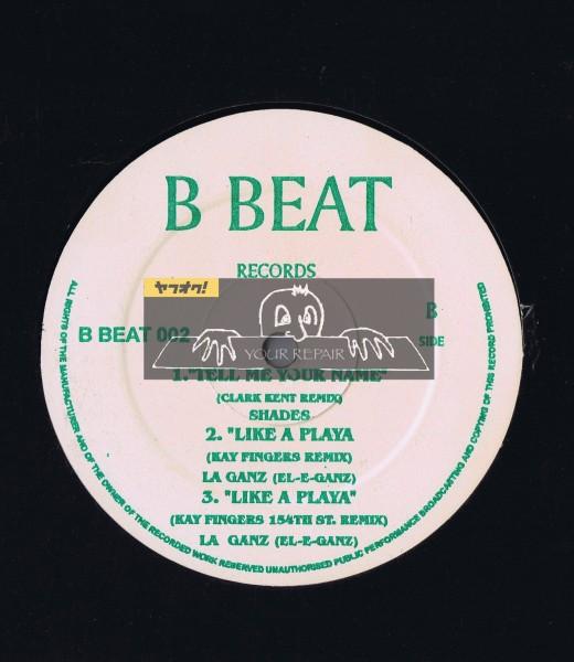【 12inch 】 Various - Untitled [ プレス国不明盤 ] [ B Beat Records / B Beat 002 ] L.A. Ganz Shades T-Boz_画像2