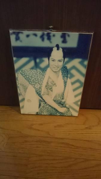 杉良太郎 ウッドプリント ポスター 遠山の金さん 昭和レトロ