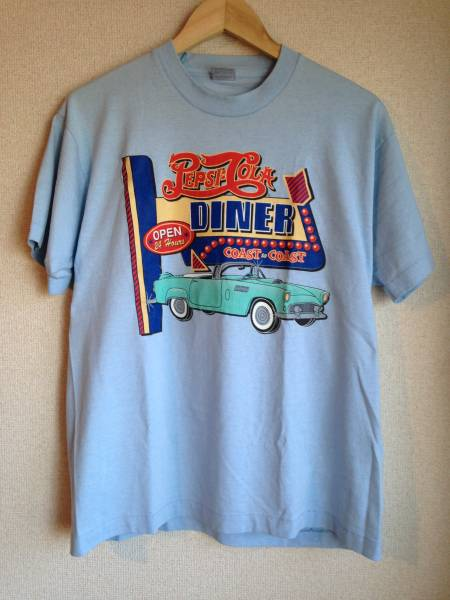ビンテージ ペプシコーラ Tシャツ 50'S クリームソーダ ロカビリー ピンクドラゴン ミラクルウーマン 80'S オールド アメグラ