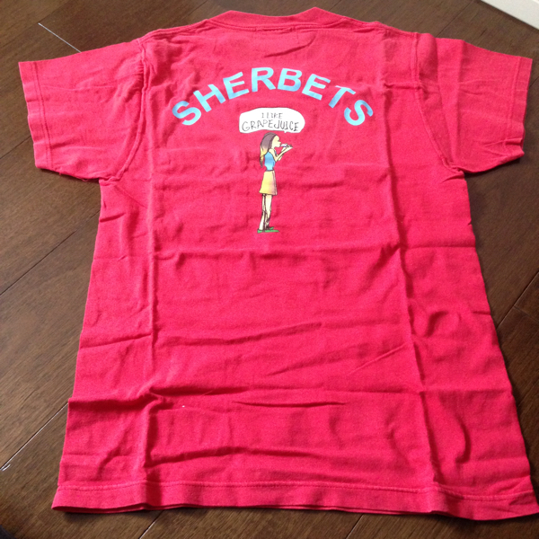 シャーベッツ Tシャツ SHERBETS sexy stones records 浅井健一 ブランキージェットシティ バンドT ライブグッズの画像