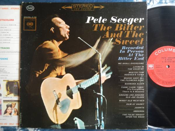 【LP】PETE SEEGER(CS8716米国COLUMBIA初回THE BITTER AND THE SWEETピートシーガー)_画像1