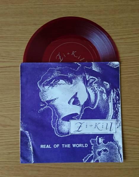 """【定額再出品・激レア】 ソノシート  Zi÷Kill """"REAL OF THE WORLD"""""""