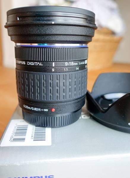 フォーサーズZUIKO DIGITAL ED 9-18mm F4.0-5.6