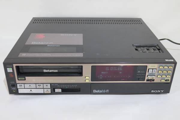 ソニー SONY SL-HF66 ビデオカセットレコーダー ベータ Betamax ジャンク品_画像1