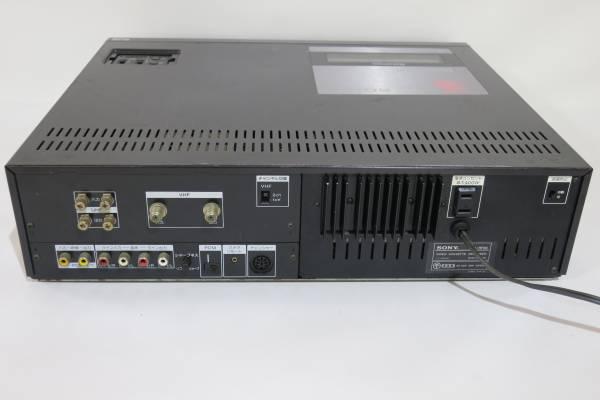 ソニー SONY SL-HF66 ビデオカセットレコーダー ベータ Betamax ジャンク品_画像2