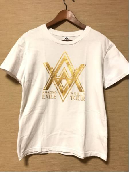 ★AMAZING WORLD★LIVE Tシャツ 白【Sサイズ】EXILE THE SECOND 三代目JSB GENERATIONS
