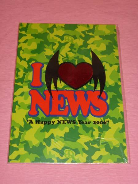 NEWS☆A Happy NEWS Year 2006☆パンフレット☆美品