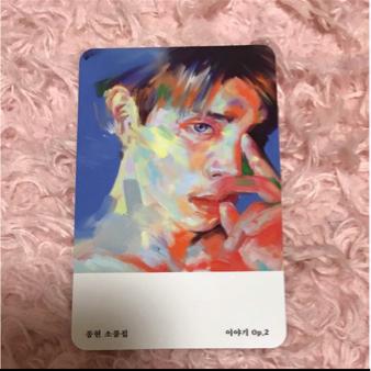 SHINee ジョンヒョン jonghyun ソロ CD トレカのみ CDなし