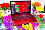 富士通 LifeBook AH77/M◆win10/Core i 7/Bluray/最大値16GB/新品SSD480GB+外HDD1TB/タッチパネル