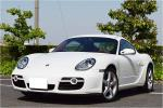 white body red caliper Porsche Cayman S sports package rear auto Wing certainly present car verification how??