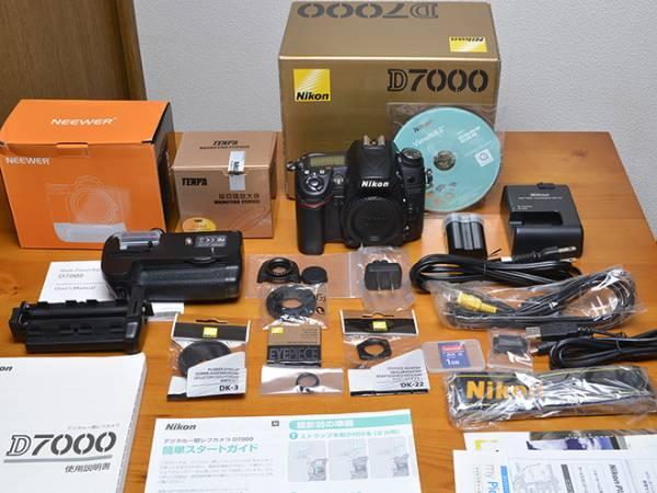 Nikon ニコン D7000 ボディ バッテリーグリップ等オマケがたくさん!