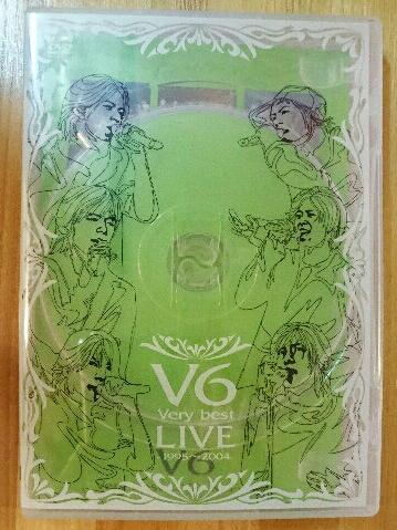 V6 / Very best LIVE-1995~2004- DVD