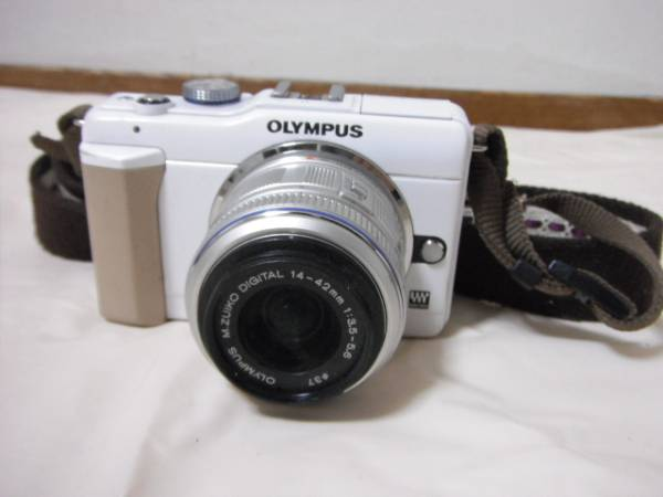 OLYMPUS オリンパス E-PL1s M.ZUIKO DIGTAL 14-42mm 1:3.5-5.6 レンズセット