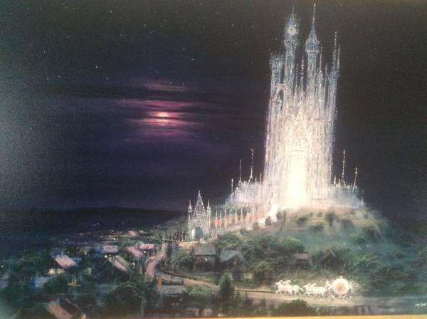 Disney Fine Art ディズニーファインアート ガラスの城 限定 レア Peter Ellenshaw
