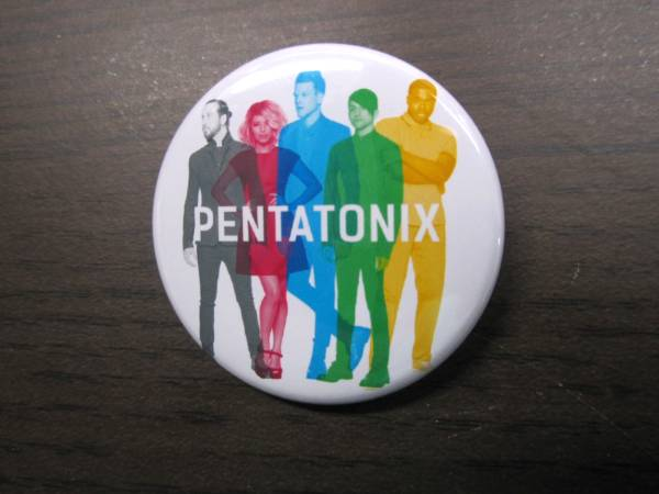 PENTATONIX ペンタトニクス 缶バッチ 38mm 非売品 新品