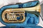 ●YAMAHA ヤマハ YBB641 チューバ 管楽器 ロータリータイプ ハードケース付き 格安 100円スタート?