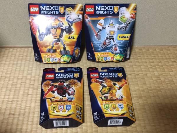 新品 レゴ ネックスナイツ 70365+70366+70338+70339