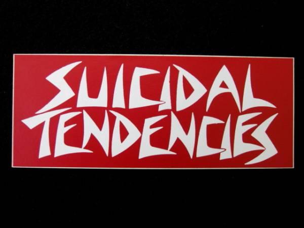 SUICIDAL TENDENCIES ステッカー 3