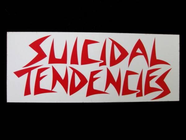 SUICIDAL TENDENCIES ステッカー 4