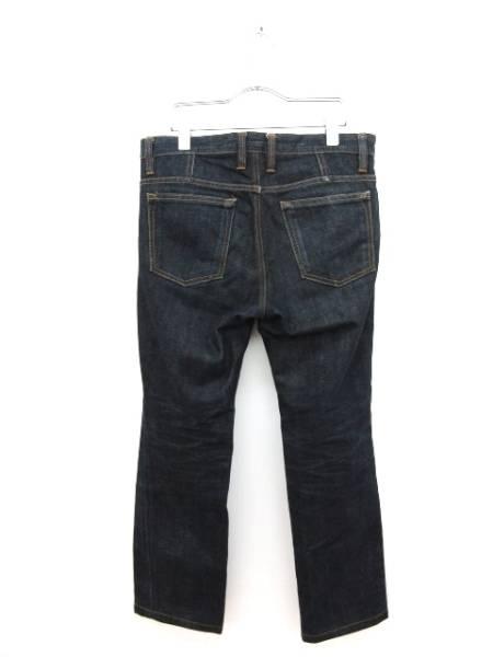 ウーヨンミ wooyoungmi パンツ デニム ジーンズ ストレート 46 紺 ネイビー メンズ_画像3
