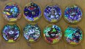 086m069★【妖怪メダル】 レジェンドメダル 8種 ブシニャン 等