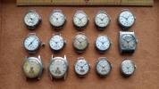 アンティーク スモセコ腕時計 PARROT(精工舎製別名) セイコー シチズン 舶来 ジャンク品 15点 まとめて