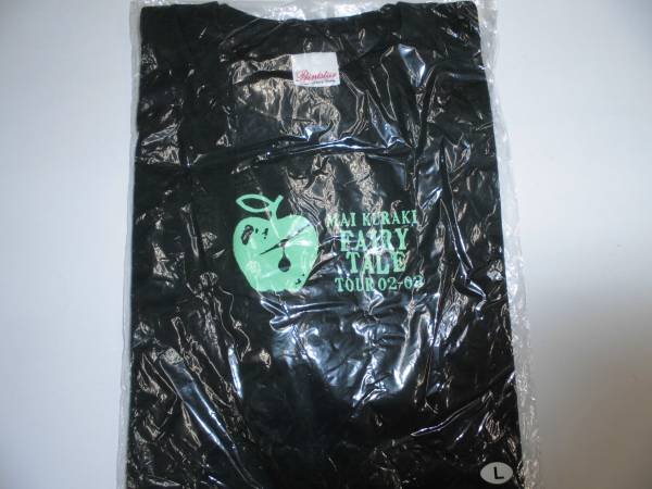【即決/未使用】 倉木麻衣 FAIRY TALE LIVE ツアー 2002~2003 Tシャツ Lサイズ ダークグリーン フェアリーテイル グッズ