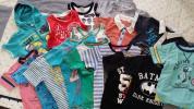 夏物セット26枚★120cm男の子/上下★Tシャツ/ポロシャツ/ランニング/パーカ/ズボン/パンツ