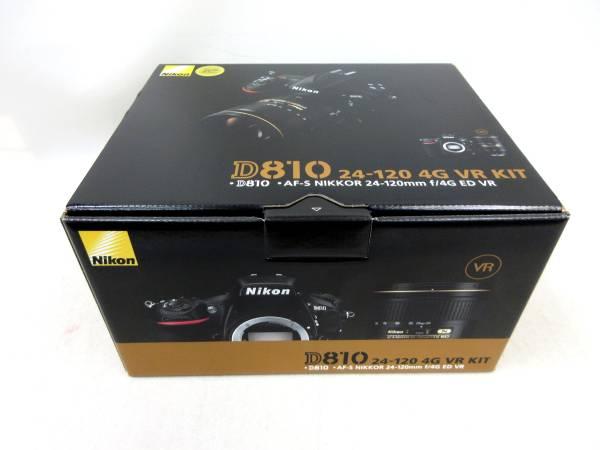 【送料無料】 未使用 Nikon★ D810 24-120 4G VR レンズキット ニコン_画像3