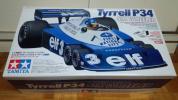 タミヤ 1/10 Tyrrell P34 Six Wheeler 復刻版 未組立品ベアリング付き