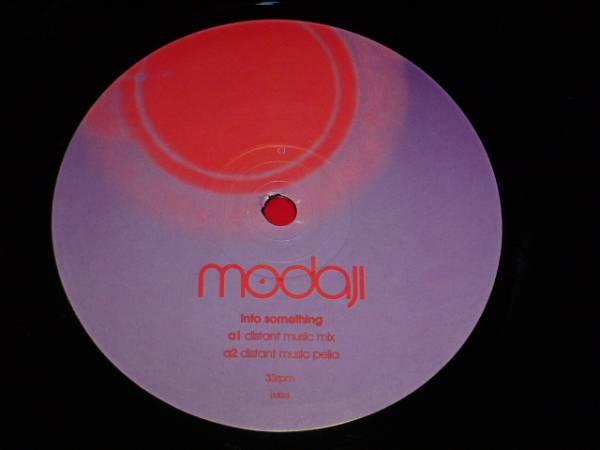 MODAJI / INTO SOMETHING〈JON CUTLER MIX/ONE AND THE SAME〈JAZZTRONIK MEETS EVERTON NELSON MIX/ 2001年盤 /LM023/ UK盤/ 試聴検査済み_画像3