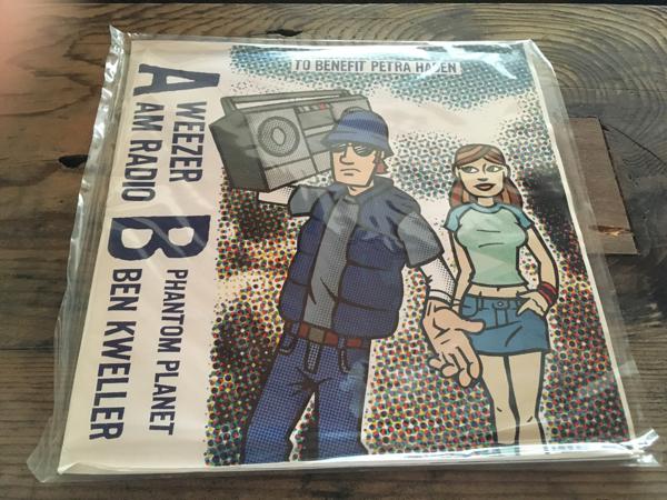 WEEZER・AM RADIO ・PHANTOM PLANET ・The BEN KWELLER 7inch EP