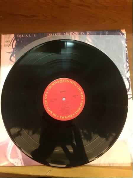 【中古品】松田聖子/SQUALL LP レコード_画像2