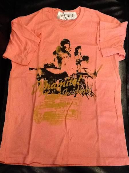 東京事変 ★ 椎名林檎 Dynamite! 2005 【 Tシャツ 】 ピンク ライブグッズの画像