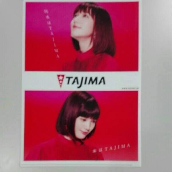送料無料 非売品 本田翼 A4クリアファイル   TAJMA 未使用 グッズの画像