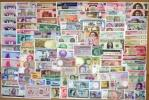 世界の紙幣【アジア/北南米/欧州・アフリカ】100種以上 全未使用 北・中・南米・オセアニア・ヨーロッパ・アジアなど多種多数 1円〜