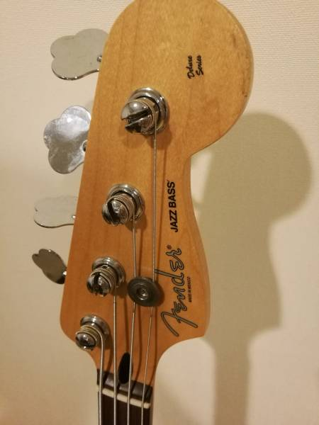 Fender Mexico Deluxe Active Jazz Bass フェンダーメキシコ デラックス アクティブ ジャズベース