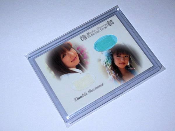 IMAGIO 小倉優子 ダブルコスチュームカード DCos-003 94/96 グッズの画像