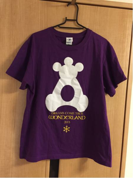 DREAMS COME TRUE WANDERLAND 2015 12.31 SAPPORO Tシャツ サイズM ドリカム ワダーランド 札幌