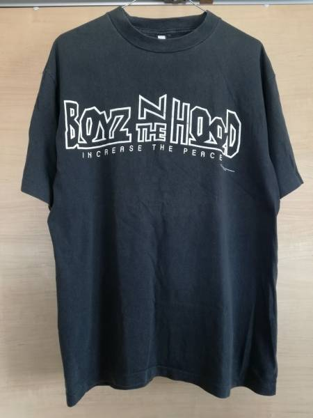 BOYZ N THE HOOD ボーイズン ザ フッド Tシャツ 40ACRES SUPREME N.W.A. Ice Cube MENACE Ⅱ SOCIETY snoop wu-tang 2pac rap tee