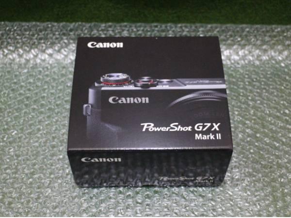 【新品】キャノン PowerShot G7 X Mark II ブラック