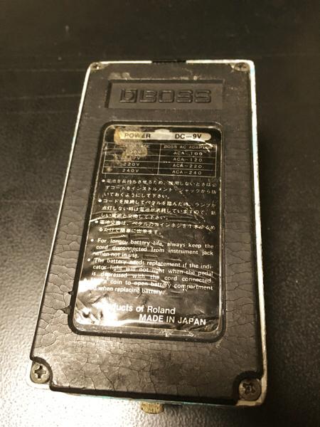 【銀ネジ】BOSS CE-2 シリアル9000番 【日本製】