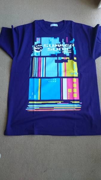 【即決送料込】サマソニ summer sonic 2016 Tシャツ Lサイズ 新品未使用 ライブグッズの画像