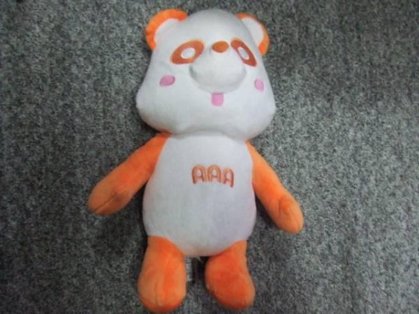 AAA え~パンダ スペシャル BIG ぬいぐるみ オレンジ